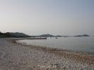 Pakoštane - plaža ispred kuče
